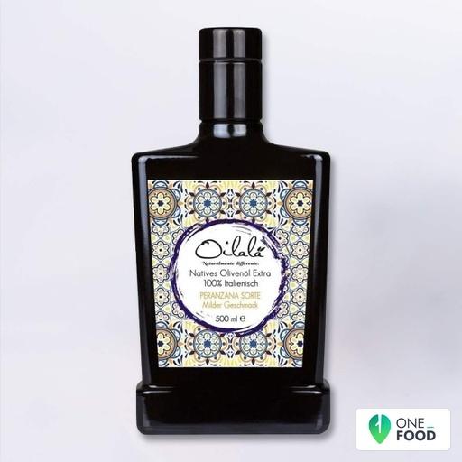 Extra Virgin Olive Oil Monovariety Peranzana Majolica 1 X 500 Ml